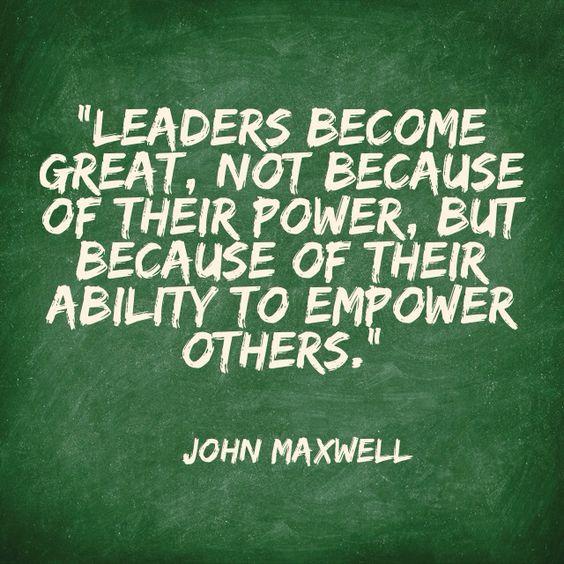 great leaders john maxwell
