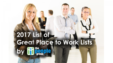 2017 list of great place to work lists