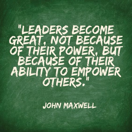 great leaders john maxwell