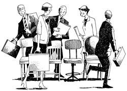 Musical chairs may be coming to a job market near you