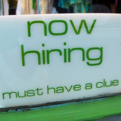 now hiring temporary
