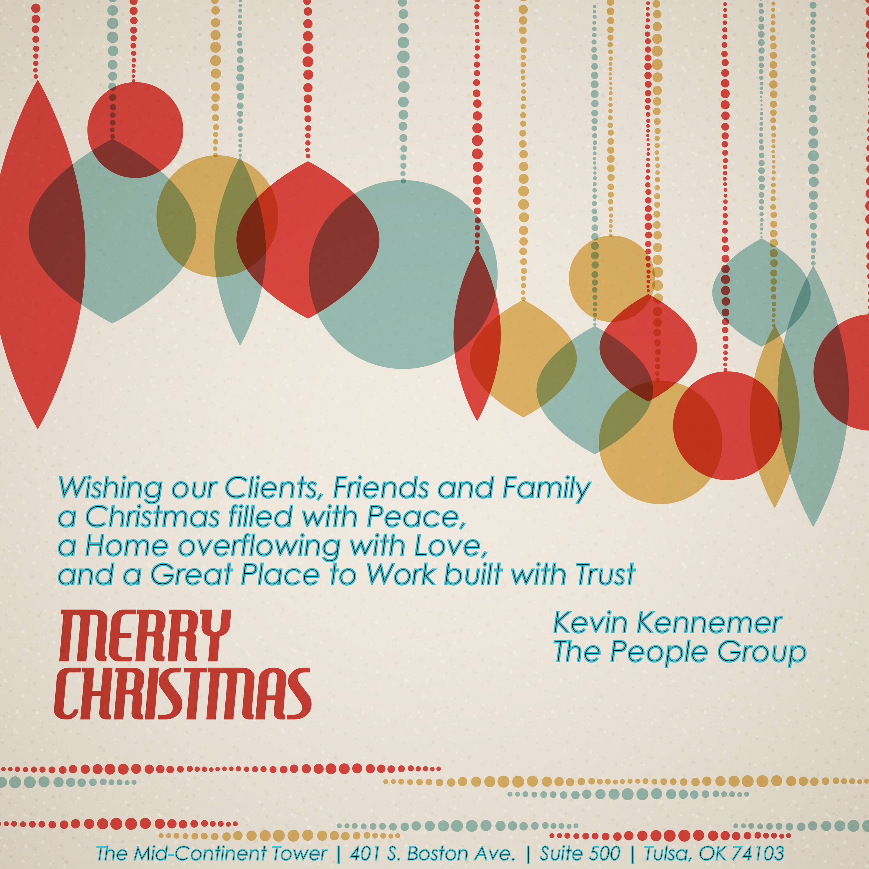 Christmas Card 2013 - The People Group