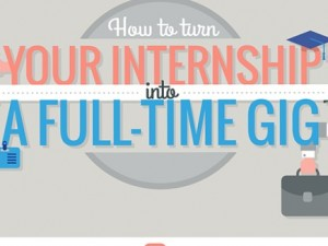 How To Turn Your Internship Into A Full-Time Gig