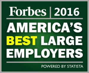 forbes 2016 100 america's best large employers
